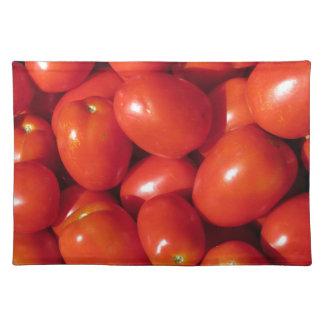 トマトの背景 ランチョンマット