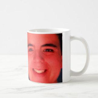 トマトの顔のマグ コーヒーマグカップ