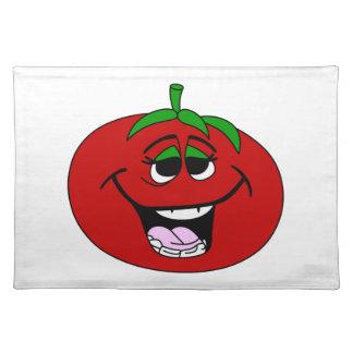 トマトの顔 ランチョンマット