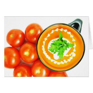 トマトスープ カード