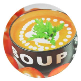 トマトスープ プレート