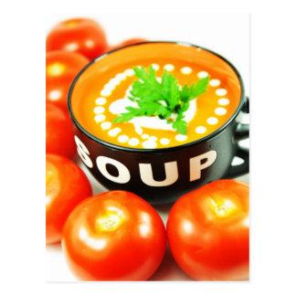 トマトスープ ポストカード