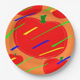 トマト ペーパープレート