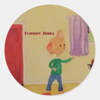 トミー元のJinksの芸術 丸形シールステッカー