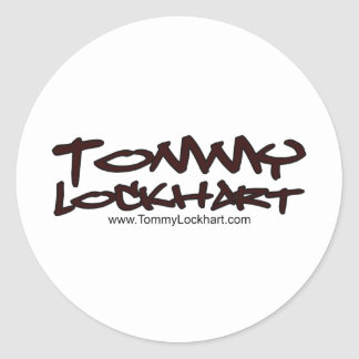 トミーLockhart 丸形シール・ステッカー