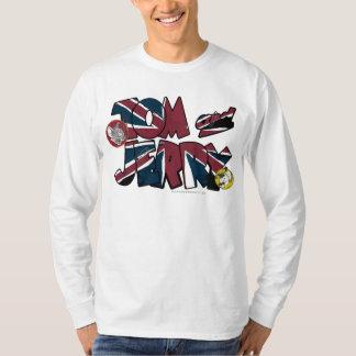 トムとジェリーのイギリスの積み過ぎ2 Tシャツ