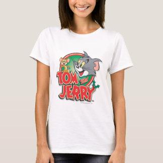 トムとジェリーのクラシックのロゴ Tシャツ