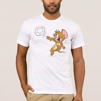 トムとジェリーのサッカー(フットボール) 1 Tシャツ
