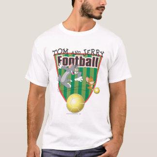 トムとジェリーのサッカー(フットボール) 6 Tシャツ