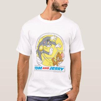 トムとジェリーのサッカー(フットボール) 8 Tシャツ