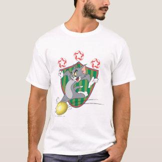 トムとジェリーのサッカー(フットボール) 9 Tシャツ