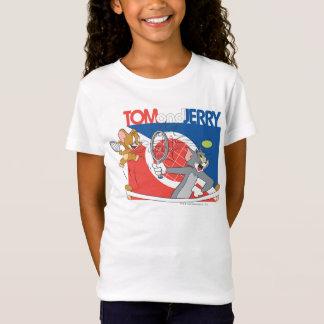 トムとジェリーのテニスのスター4 Tシャツ