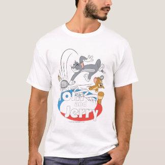 トムとジェリーのテニスのスター7 Tシャツ