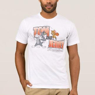 トムとジェリーのバスケットボール3 Tシャツ