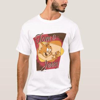 トムとジェリーのロゴ2 Tシャツ