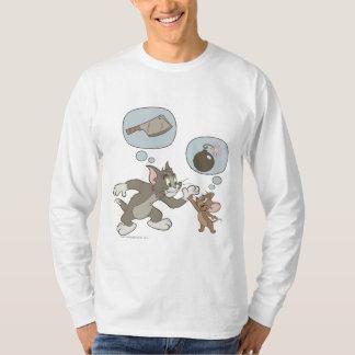 トムとジェリーの悪の思考 Tシャツ