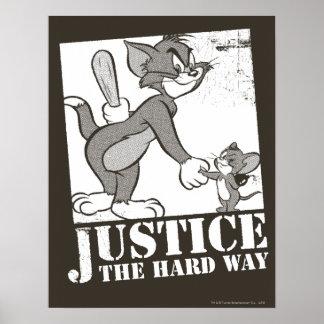 トムとジェリーの正義堅い方法 ポスター