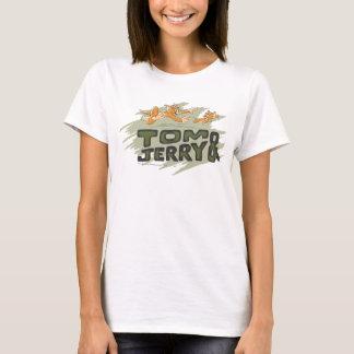 トムとジェリーの追跡のロゴ Tシャツ