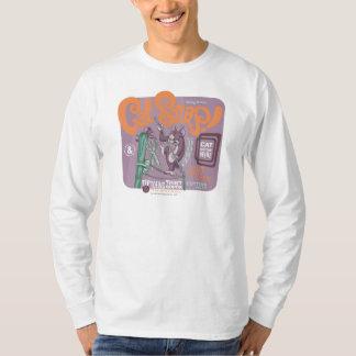 トムとジェリー猫のスナップ Tシャツ