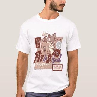 トムとジェリー適合結ばれるべき Tシャツ