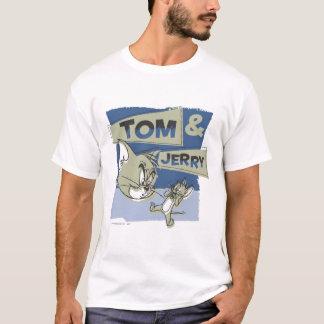 トムとジェリーScaredeyのマウス Tシャツ