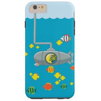 トムのぞく潜水艦(iphone) tough iPhone 6 plus ケース