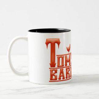 トムのバーベキューのマグ ツートーンマグカップ