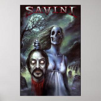 トム・サヴィーニの公式のゾンビ ポスター