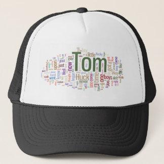 トム・ソーヤの単語の雲 キャップ
