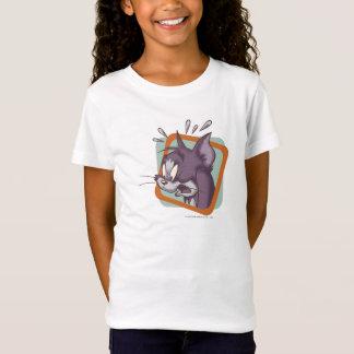 トムScaredy猫 Tシャツ