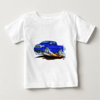 トヨタのツンドラCrewmaxの青のトラック ベビーTシャツ