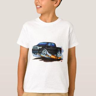 トヨタのツンドラCrewmaxの黒いトラック Tシャツ