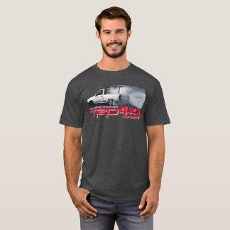 トヨタタコマ市4x2 TRDの漂流の版暗闇 Tシャツ