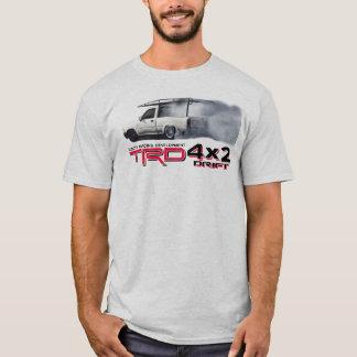 トヨタタコマ市4x2 TRDの漂流の版 Tシャツ