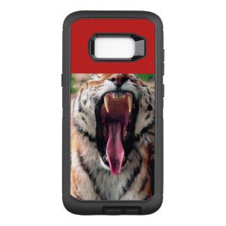 トラのあくび、舌、牙 オッターボックスディフェンダーSamsung GALAXY S8+ ケース