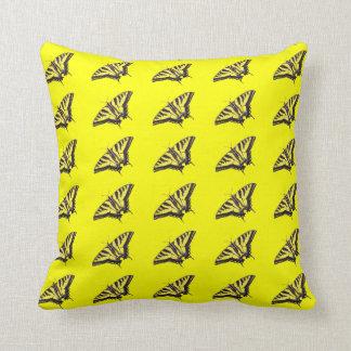 トラのアゲハチョウの枕 クッション