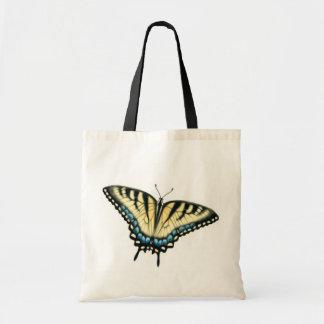 トラのアゲハチョウの蝶トートバック トートバッグ