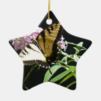 トラのアゲハチョウの蝶 セラミックオーナメント