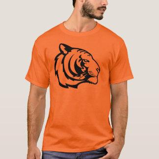 トラのオレンジのTシャツ Tシャツ