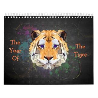 トラのカレンダーの年 カレンダー