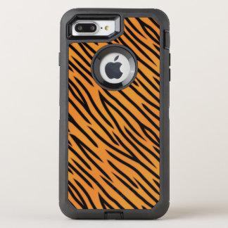 トラのストライプなパターン オッターボックスディフェンダーiPhone 8 PLUS/7 PLUSケース