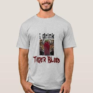 トラのワイシャツ Tシャツ