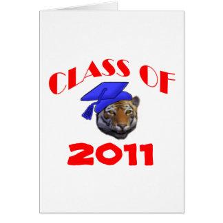 トラの卒業生 カード