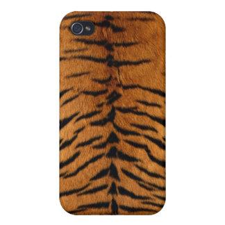トラの毛皮のiphone 4ケース iPhone 4 カバー