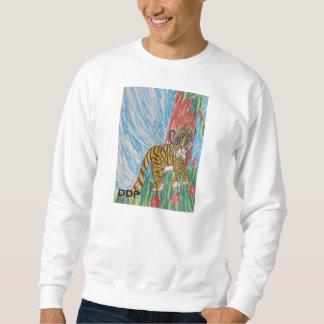 トラの花 スウェットシャツ