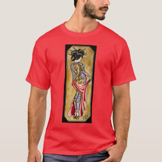 トラの芸者 Tシャツ