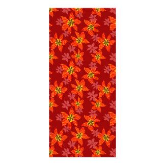 トラの蘭パターン ラックカード