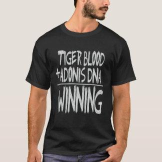 トラの血、勝つアドニスDNA…! Tシャツ