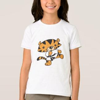 トラの蹴り Tシャツ