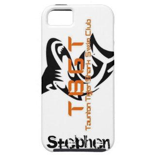 トラの鮫スティーブンの保護例 iPhone SE/5/5s ケース